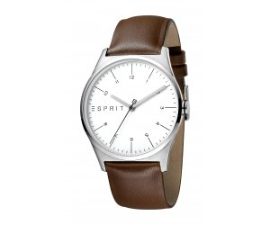 ESPRIT karóra Essential Silver Brown